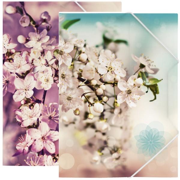 Brunnen Sammelmappe - A4 - Blumenmotive