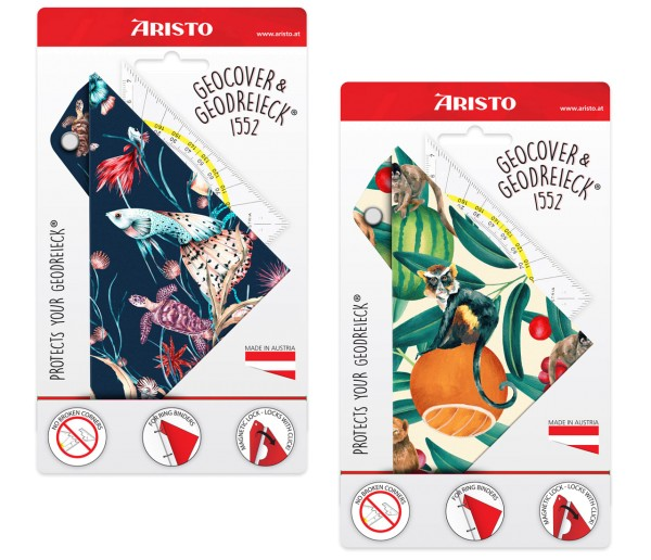 Aristo Geocover Schutzhülle & Geodreieck® 1552