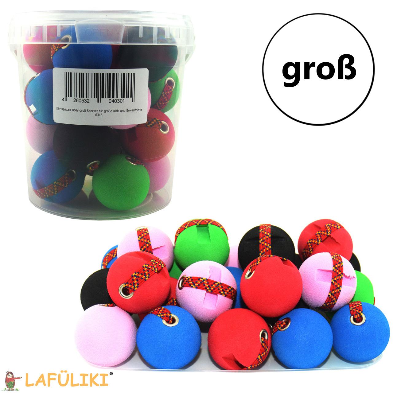 Schreibhilfe-Bolly-schreibkugel-ball-gross-6316-Set-25-Stueck-Klassensatz-lafueliki
