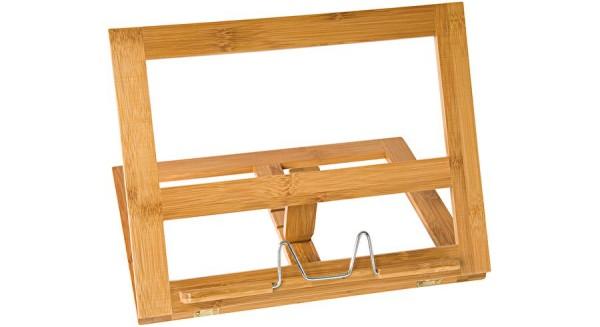 Buchständer Holz große Ausführung