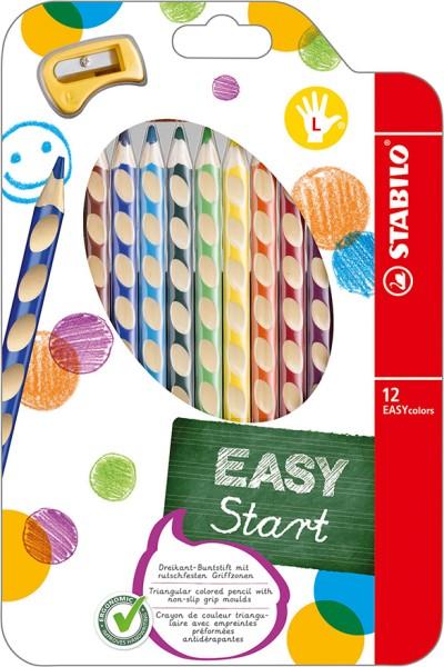Stabilo easy colors 12er Set Linkshänder