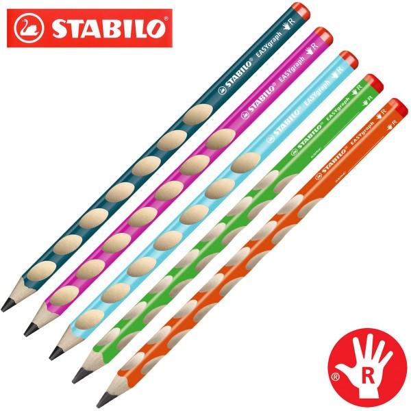 Stabilo easy graph Bleistift für Rechtshänder