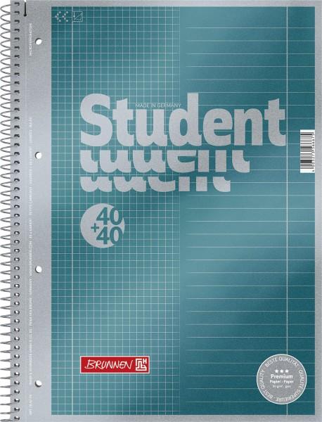 Collegeblock - A4 Duo - Premium 2in1 kariert & liniert
