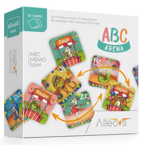 Alleovs - ABC Arena - Buchstaben lernen - Memo-Spiel