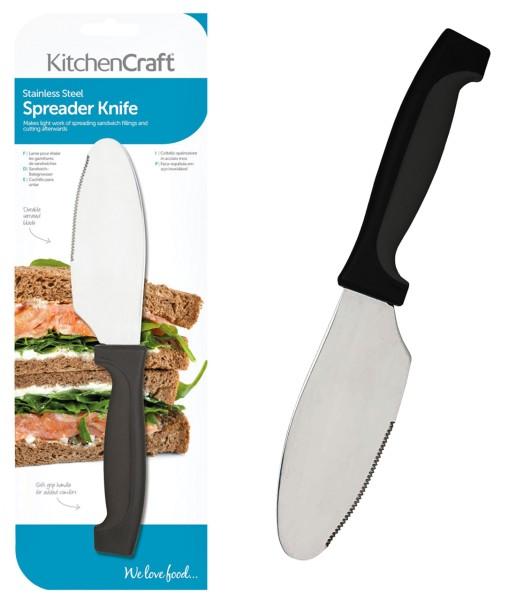 Frühstück-Sandwich-Messer - extra breite Klinge
