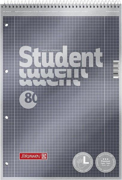Brunnen Collegeblock A4 Premium - Lin. 28 - kariert