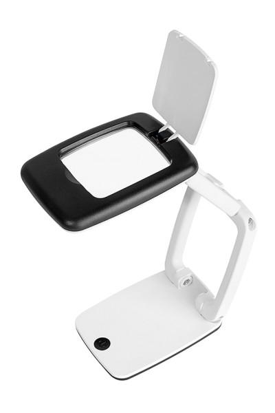 Tischlupe Pocket mit LED-Licht
