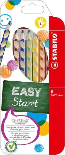 Stabilo easy colors 6er Set Linkshänder