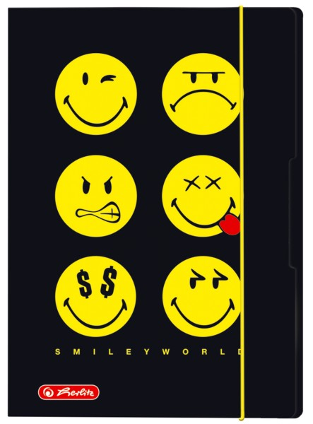 Sammelmappe SmileyWorld Black A3