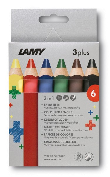 Lamy 3plus 6er Set