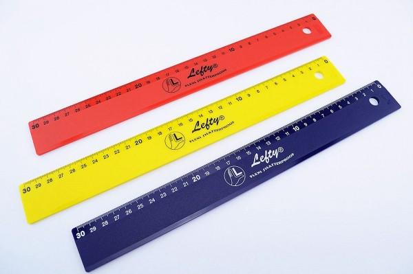Linkshänder Lineal 30 Cm Kunststoff Lafüliki