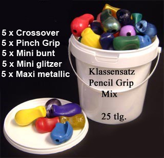 Klassensatz Pencil Grip Mix