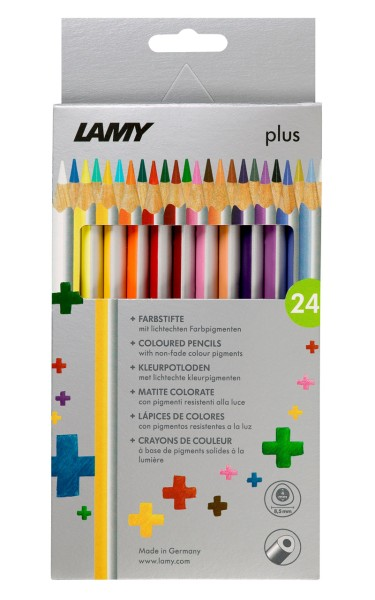 Lamy plus Farbstifte 24er Set