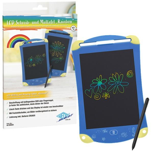 Wedo® LCD Schreib- und Maltafel - Rainbow