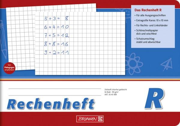 Rechenheft - R - A5 - quer Brunnen 1 Klasse