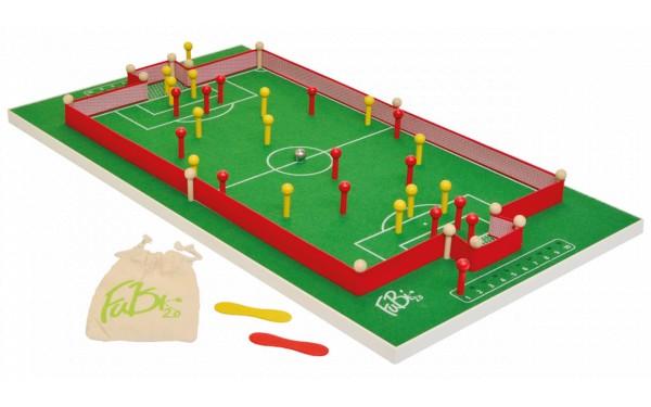 Das ist ein Bild vom FuBi 2.0 das Fußball-Billard Tischspiel