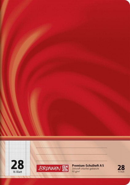 Schulheft A5 Premium Lineatur 28