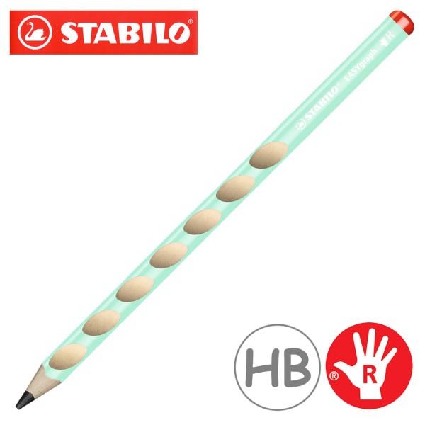 Stabilo easy graph Bleistift für Rechtshänder - pastell