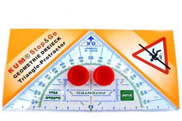 SOFTIE®FLEX Geometriedreieck 16 cm Stop Go Grips