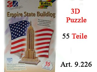 3D Puzzle - Empire State Building - 55 Teile
