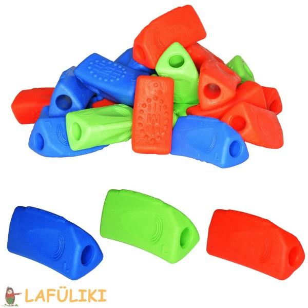 Kum Sattler Tri Grip drei-flächige Schreibhilfe in rot, blau oder grün