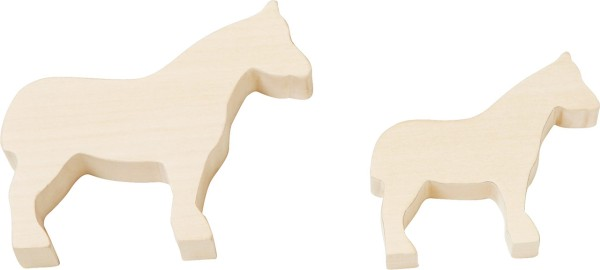 HABA 302547 Terra Kids Schnitzrohlinge Pferd