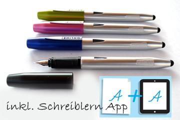 Online Füller Switch mit Schreiblern- App