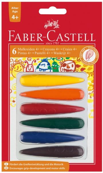 Malkreiden 4+ Faber-Castell Wachsmaler