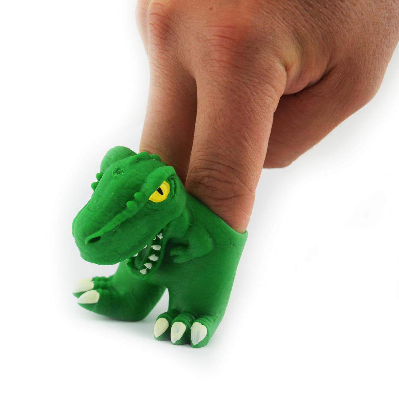 Fingerpuppe-Dino-4er-Set-TY764-t-rex-Dinosaurier-lafueliki