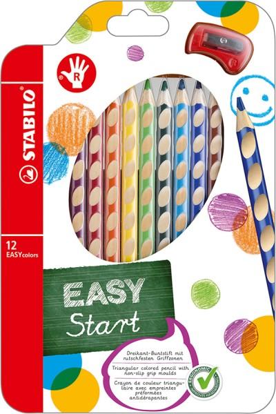 Stabilo easy colors 12er Set Rechtshänder