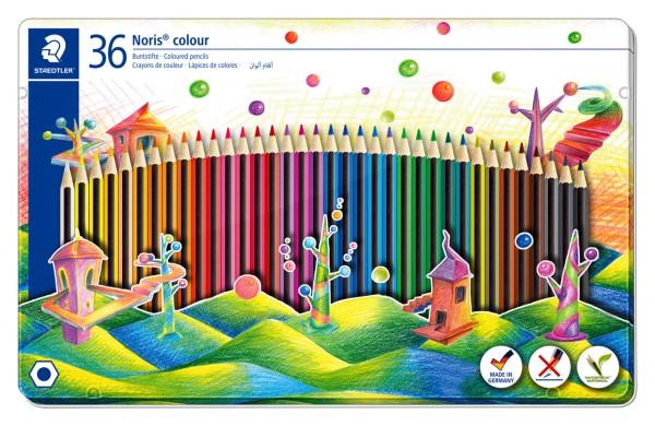 Staedtler Noris Colour 185 Buntstift 36er Set - Metalletui