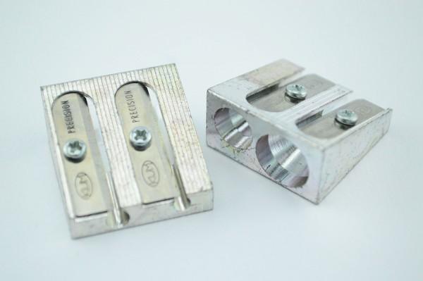 Rechtshänder Metallspitzer zweifach