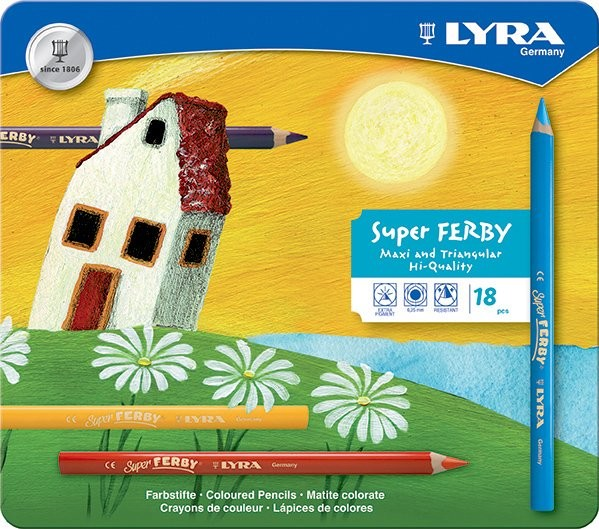 Lyra Super Ferby 18er Set im Metalletui