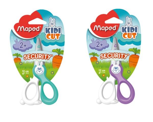 Maped KidiCut Sicherheitsschere Rechtshänder