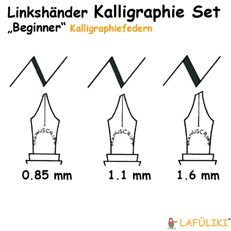 Manuscript-Linkshaender-Kalligraphie-Set-3er-Feder-uebersicht-MC1235LL-Beginner-lafueliki