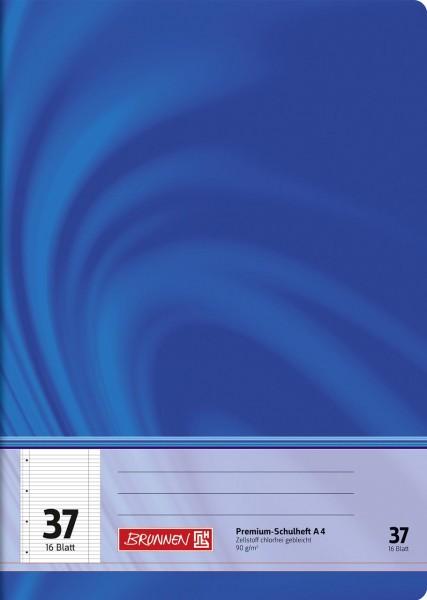 Schulheft A4 Premium Lineatur 37