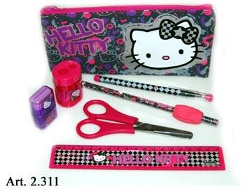 Hello Kitty Set Rechtshänder 8tlg.