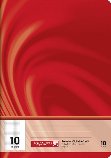 Schulheft A5 Premium Lineatur 10