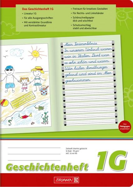 Geschichtenheft - 1G - A4 - Brunnen Klasse 1