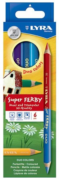 Lyra Super Ferby Duo 6er Set mit 12 Farben
