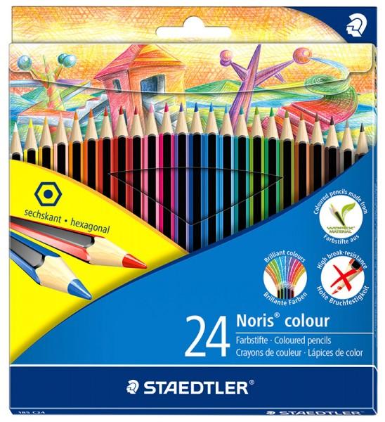 Staedtler Noris colour 185 Farbstift 24er Set