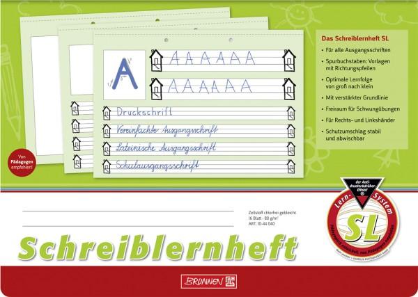 Schreiblernheft - SL - A4 Brunnen