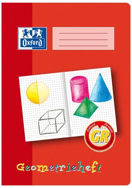 Oxford Geometrieheft DIN A4 Lin. GR