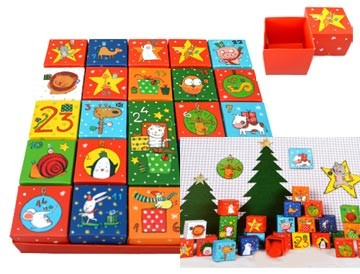 Adventskalender 24 Boxen