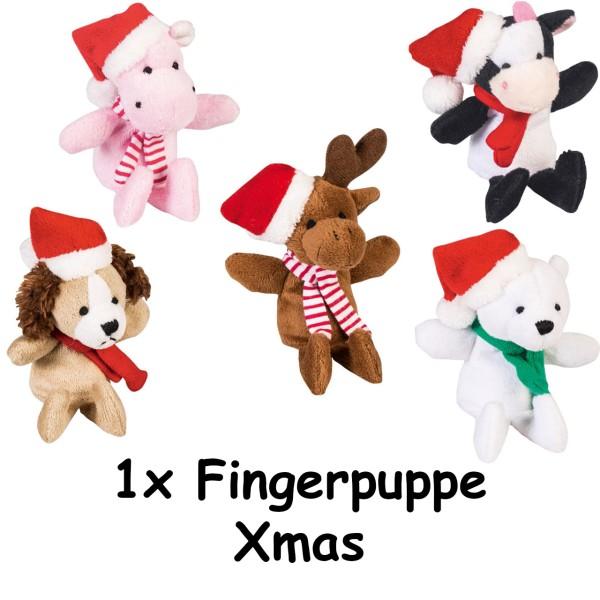 Fingerpuppe Xmas