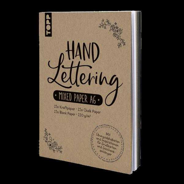 Handlettering Mixed Paper-Papierblock A6