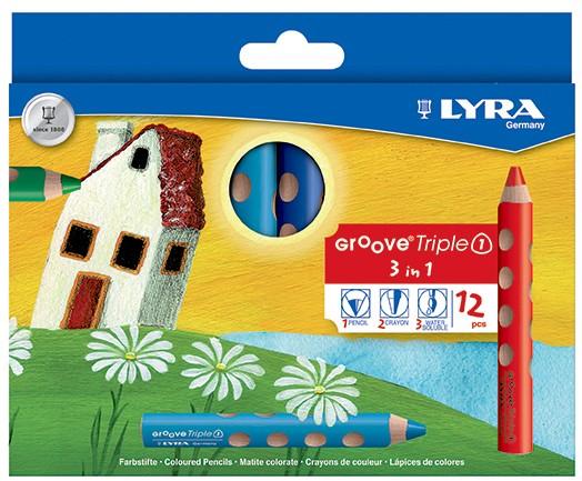 Lyra Groove Triple 1 - 12er Set