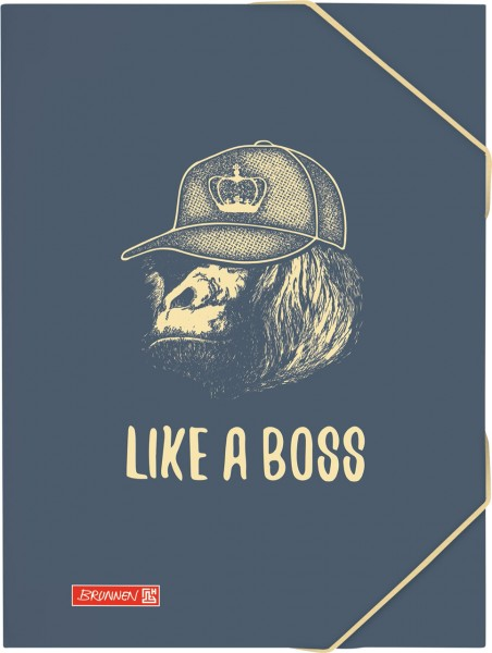 Brunnen Sammelmappe - A3 - Like a Boss