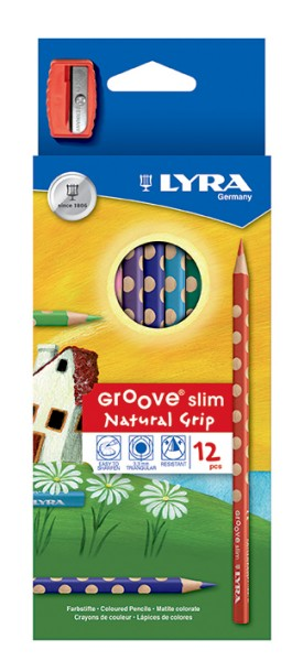 Lyra Groove Slim 12er Set