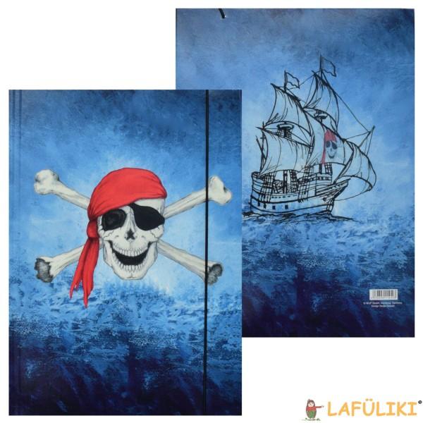 Sammelmappe - A3 Pirat - Totenkopf